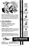Click here to enlarge image and see more about item w0457: Air France Luxury Ad w0457