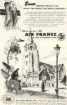 Click here to enlarge image and see more about item w0469: Air France Magic Doorway Ad w0469