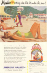 Click here to enlarge image and see more about item w0471: American Airlines Mexico Ad w0471