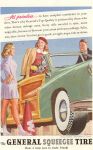 Click here to enlarge image and see more about item w0478: 1947 General Tire  Woody Ad