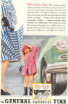 Click here to enlarge image and see more about item w0480: 1947 General Tire Squeege Ad