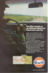 Gulf Oil Tourgide Map Service Ad w0482