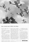Click here to enlarge image and see more about item w0495: Boeing Training Planes  Ad w0495