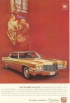 1970 Cadillac  Hardtop Sedan de Ville Ad