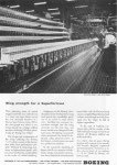 Click here to enlarge image and see more about item w0514: Boeing WWII B29 Wing Machining Ad w0514