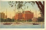 Click here to enlarge image and see more about item w0621: Chicago IL Belmont Harbor Postcard