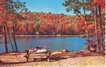 Charleston Lake Ontario Rest Spot Postcard