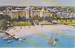 Click here to enlarge image and see more about item w0706: Nassau Bahamas Sheraton Postcard