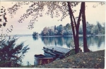Wolf Lake Westport Ontario  Postcard