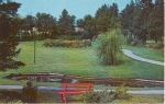 Click here to enlarge image and see more about item w0724: St Andrews New Brunswick Canada Centennial Park Card w0724