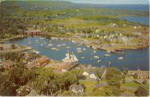 Click here to enlarge image and see more about item w0731: Camden Maine Yacht Club Postcard w0731