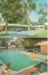 Burlington VT Colonial Motor Inn Postcard w0748