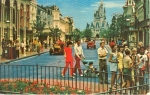 Walt Disney World Main Street Postcard w0763