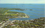 Click here to enlarge image and see more about item w0776: Camden Maine Harbor Postcard w0776
