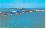 Florida Keys Bahia Honda Bridge Postcard w0782
