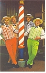 Click here to enlarge image and see more about item w0787: Disney World  The Dapper Dans Postcard w0787