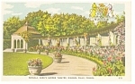 Click here to enlarge image and see more about item w0797: Niagara Falls Oake's Garden Theatre  Postcard