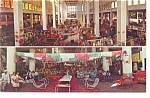 Click here to enlarge image and see more about item w0801: Interior of Mercado Juarez Mexico Postcard w0801