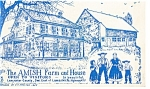 Lancaster PA The Amish Farm and House  Postcard w0806