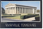 Nashville TN The Parthenon Postcard w0814