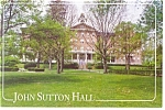 Indiana University of PA, John Sutton Hall Postcard