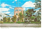 Click here to enlarge image and see more about item w0819: Bluebeard's Castle Tower, St Thomas, VI Postcard