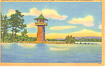 Weirs Point Lake Winnipesaukee ,NH Postcard