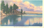 Twilight Lake Winnipesaukee ,NH Postcard 1934
