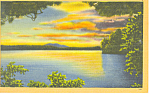 Paugus Bay Lake Winnipesaukee ,NH Postcard