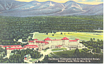 Mt Washington Hotel  Bretton Woods NH  Postcard w0854