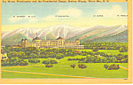 Mt Washington Hotel Bretton Woods NH  Postcard w0856 1951