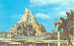 Click here to enlarge image and see more about item w0859: Matterhorn,Lagoon, Disneyland, CA Postcard 1969