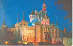 Click here to enlarge image and see more about item w0860: Sleeping Beautys Castle, Disneyland, CA Postcard