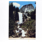Click here to enlarge image and see more about item x0005: Vernall Fall Yosemite CA Postcard x0005