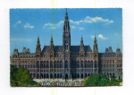 Click here to enlarge image and see more about item x0053: City Hall Vienna Austria Postcard x0053