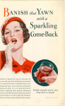 Click here to enlarge image and see more about item x0095:  Coca Cola  Ad x0095 Aug 1933