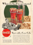 Click here to enlarge image and see more about item x0097:  Coca Cola  Ad x0097 June 1934