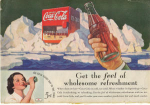 Click here to enlarge image and see more about item x0105:  Coca Cola  Ad x0105 Aug1936