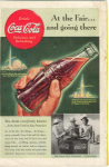 Click here to enlarge image and see more about item x0107:  Coca Cola  Ad x0107 World s Fair Jun 1939