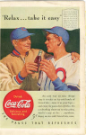 Click here to enlarge image and see more about item x0108:  Coca Cola  Ad x0108 Aug 1940