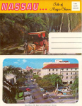 Click here to enlarge image and see more about item x0114: Nassau Souvenir Folder x0114