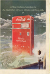 Click here to enlarge image and see more about item x0205: Coca Cola  Ad x0205 Feb1949