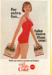Coca Cola  Ad Jun 1965