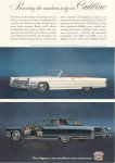 Click here to enlarge image and see more about item x0241: 1960 Cadillac De Ville Convertible Ad x0241