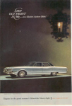 Click here to enlarge image and see more about item x0261: 1966 Oldsmobile 98 Ad