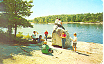 Click here to enlarge image and see more about item x0281: Camp Minni Ha Ha  Barneysville NH Postcard x0281