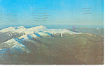 Presidential Range,White Mountains,NH Postcard 1980