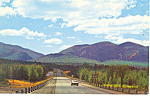 Highway,White Mountains,NH Postcard