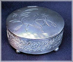 VICTORIAN SILVERPLATE JEWEL BOX (Image1)