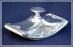 VICTORIAN SILVERPLATE INK BLOTTER (Image1)